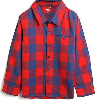 Tip Top Camisa Tip Top Infantil Xadrez Vermelha
