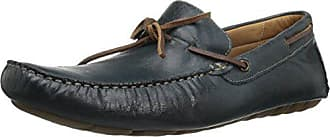 G.H. Bass & Co. Mens Wyatt Slip-On Loafer, Navy, 8.5 M US
