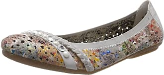 Rieker Womens 41458 Closed Toe Ballet Flats, Multicolour (ginger-multi/fog 90), 3.5 UK (36 EU)