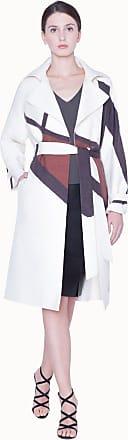 Akris Coat in double face cotton silk