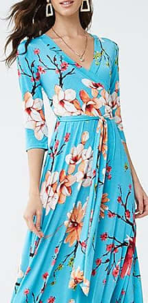 Forever 21 Forever 21 Floral Belted Maxi Dress Turquoise/multi