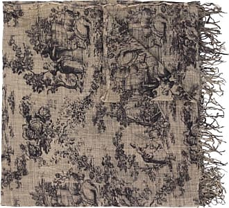 Uma Wang abstract print scarf - NEUTRALS