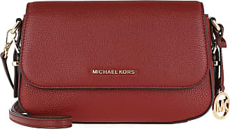 Michael Kors Bedford Legacy Large Flap Xbody Brandy Umhängetasche rot