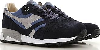 Diadora V7000 NYL II Grau Beige Schuhe Sneaker Low Herren 87