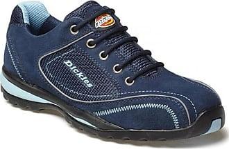 Dickies Ladies Women Ottawa Safety Work Shoe Trainer, Steel Toe Blue