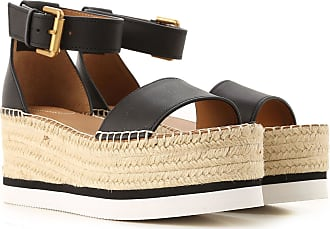 See By Chloé Wedges for Women On Sale, Black, Leather, 2019, 2.5 3.5 4.5 5.5 6.5 7.5 8.5