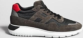 Reposi Calzature HOGAN Interactive³ - Sneakers in suede grigio antracite