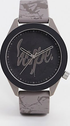 Hype marble strap watch-Grey