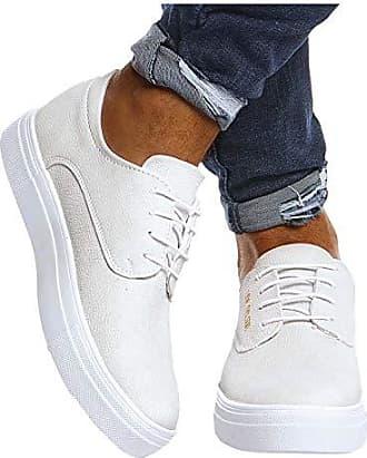 LEIF NELSON Herren Schuhe für Freizeit Sport Freizeitschuhe Männer weiße Sneaker Sommer Coole Elegante Sommerschuhe Sportschuhe Weiße Schuhe für Jungen Winterschu