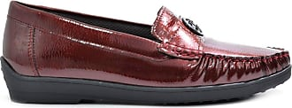 Jenny Womens Washington 60704 Moccasin Shoes F 1170 (Numeric_3_Point_5) Burgundy