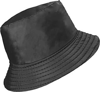 TOSKATOK Ladies Womens Showerproof Rainyday Bucket Festival Hat with Fleece Lining Black