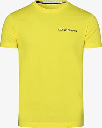 Calvin Klein Jeans Herren T-Shirt gelb