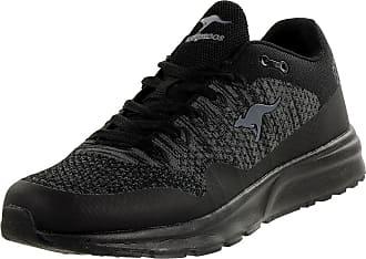 Kangaroos Mens K-Josch Low-Top Sneakers, Black (Jet Black), 7 7.5 UK
