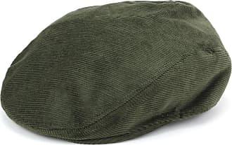 Hawkins Corduroy Flat Cap - Green (57cm)