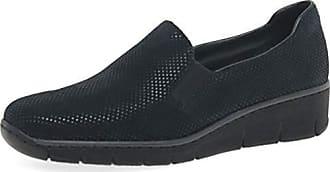 Rieker 53765 45 Lack Slipper | Comfort & Bequem Women