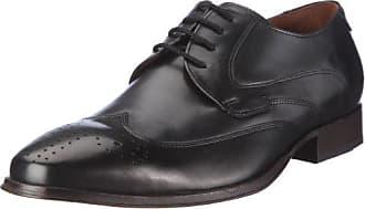 23f0ead2a812 Manz Eros Ago G 110003-2, Herren Klassische Halbschuhe, schwarz, (schwarz