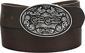 Tom Tailor schmaler dünner voll Leder Gürtel mit Dornschließe TW1031L98-770