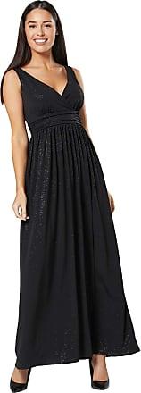 Happy Mama Womens Maternity Nursing Sparkly Sleeveless Maxi Dress 1144 (Black with Multicolour, UK 12, L)