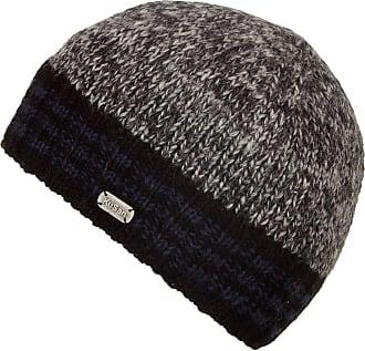KuSan Knitted Rib Beanie (PK1619) (Grey/Blue)