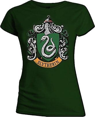 Harry Potter Official Skinny T Shirt Harry Potter Hogwarts SLYTHERIN House Green XXL 16
