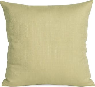 Elizabeth Austin Milan Sterling Polyester Decorative Throw Pillow Willow Polyester Fill - 1-204