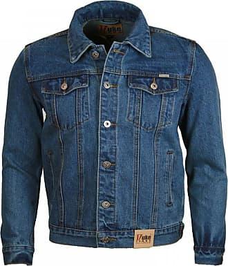 Duke London Duke Denim Trucker Jacket Blue Mens X-Large