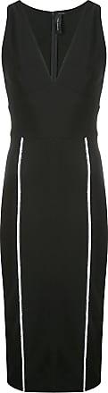 Yigal AzrouËl mechanical sheath dress - Black