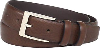 Florsheim Mens Italian Full Grain Leather Feather Edge 32MM, Brown, 42
