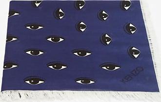 Kenzo Large multi eye scarf