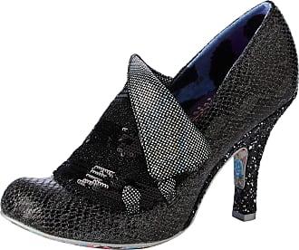 Irregular Choice Womens Flick Flack Closed Toe Heels, Black (Black De), 6.5 (40 EU)