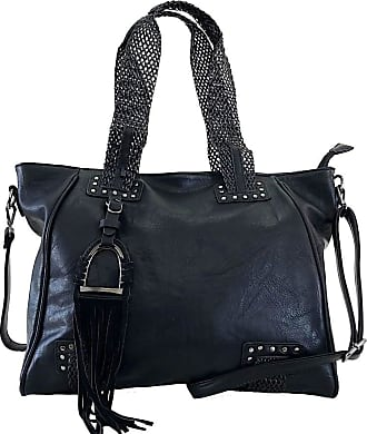 Its! BOLSA ITS! SHOPPER COM DIVISÃO PRETO