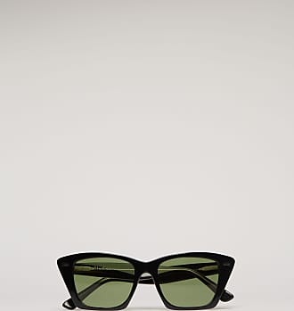 Acne Studios Ingridh Black/Yellow/Green D-frame acetate sunglasses