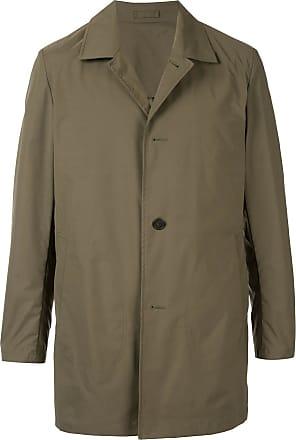 Kent & Curwen packable mac coat - Green