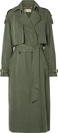 Michael Kors Lyocell Trench Coat - Army green