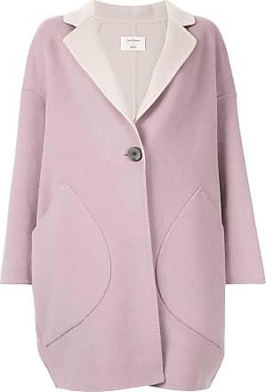 Onefifteen oversized midi coat - PURPLE