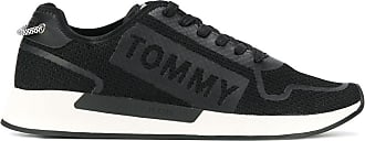 Tommy Jeans coated knitted sneakers - Black