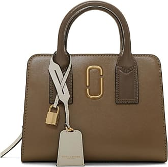 2c5159301926 Marc Jacobs Grey and Brown Little Big Shot Bag
