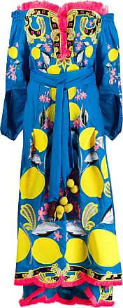 Yuliya Magdych Lemons dress - Blue