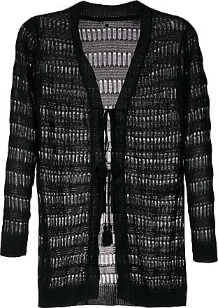 Track & Field Cardigan vestido de tricô - Preto