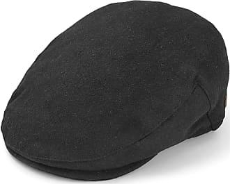 STETSON SCHIEBERMÜTZE FLATCAP CAP KAPPE MÜTZE TEXAS WOLLE KASCHMIR SCHWARZ TREND