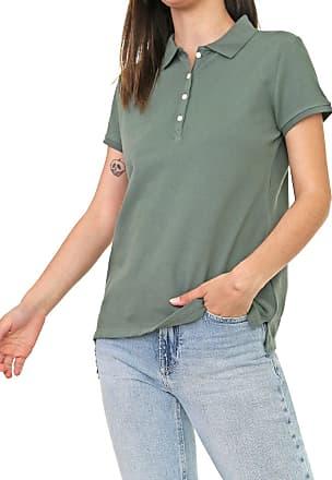 GAP Camisa Polo GAP Botões Verde