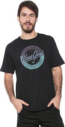 Wave Giant Camiseta WG Plants Preta