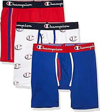 Champion 3-Pack Boxer Briefs Men/'s Everyday Comfort All Over Logo Underwear New