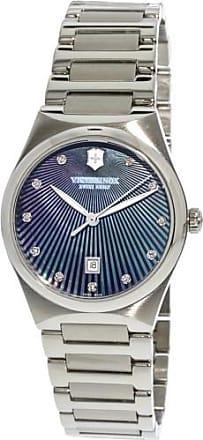 Victorinox by Swiss Army Swiss Army Womens Victoria Diamond 241536 Silver Stainless-Steel Plated Quartz Fashion Watch