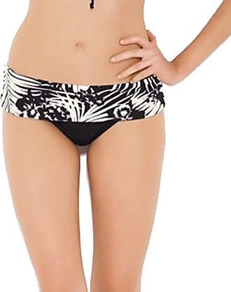 Panache Claudette Folded Pant Womens Bikini Black 12