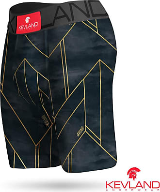 Kevland Underwear Cueca Boxer Long Leg Kevland Dark Line Tamanho:GG;Cor:Cinza