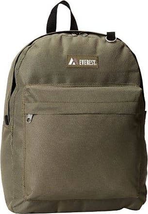 Everest Classic Backpack, Olive, One Size