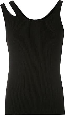 Uma Regata de tricô Tonica - Preto