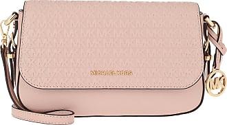 Michael Kors Bedford Legacy LG Flap Crossbody Bag Soft Pink Umhängetasche rosa