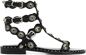 Ash Phoenix 20mm strappy sandals - Black